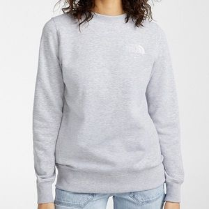 North Face Grey Sweatshirt